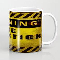 Warning - Zombie Detention Area Coffee Mug