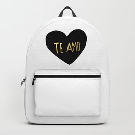 Te Amo Backpack