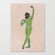 Toxic Dancer Canvas Print