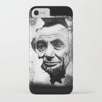 lincoln iPhone & iPod Cases featuring Lincoln by 6-4-3