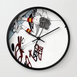 Skater Girl - Part One - Skater Wall Clock