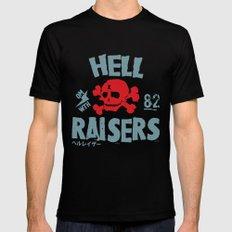 Hell Raisers Mens Fitted Tee MEDIUM Black