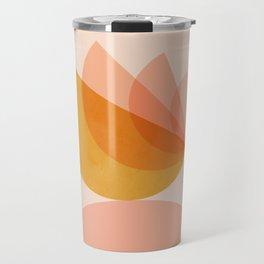 Abstraction_BIRD_Balance_Mountains_Minimalism_001 Travel Mug