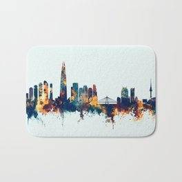Seoul Skyline South Korea Bath Mat