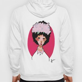transparent flower girl  Hoody