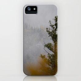 Myra Canyon Late Fall iPhone Case