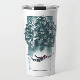 Falling Shepard Travel Mug