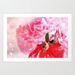 Pretty Pink Peonies :) Art Print