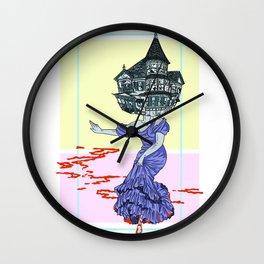 Murder House Wall Clock
