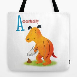 Accountability Tote Bag