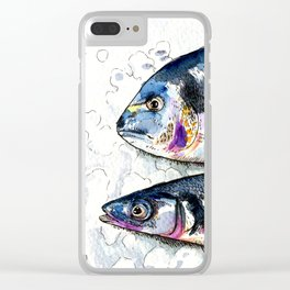 The Dorade and her friend on ice Clear iPhone Case