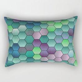 Honeycomb hexagonal Rectangular Pillow