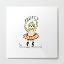 Sloth Lake Metal Print