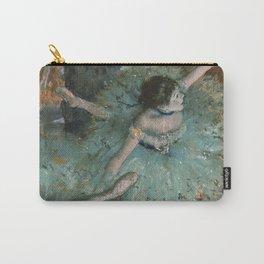 Swaying Dancer - Edgar Degas Carry-All Pouch