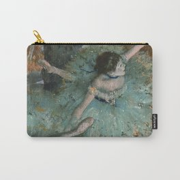 Swaying Dancer - Edgar Degas Carry-All Pouch