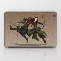 legolas iPad Cases featuring Pure Elven Elegance by wolfanita