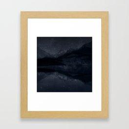 Night Valley Framed Art Print