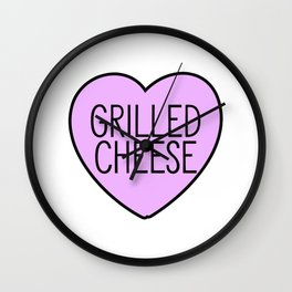 Love Grilled Cheese Wall Clock