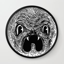 Blahhhh Wall Clock