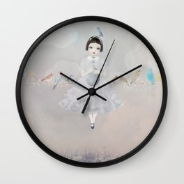all in a row Wall Clock