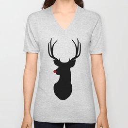 Rudolph The Red-Nosed Reindeer Unisex V-Neck