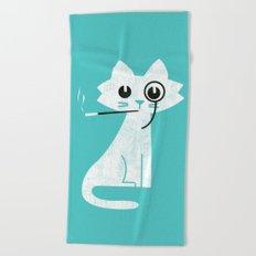 Mark - Aristo-Cat Beach Towel