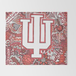 Indiana University for Kimberly Throw Blanket
