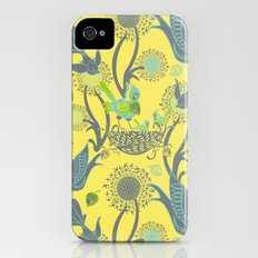 Birds and Acorns Slim Case iPhone (4, 4s)