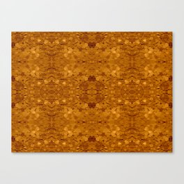 Golden Sequin Pattern Canvas Print