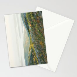 Cadillac Mountain in Fall, Acadia National Park on The Coast Of Maine Stationery Cards