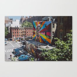 from the highline Canvas Print