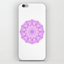 Mandala 12 / 4 eden spirit pink iPhone Skin