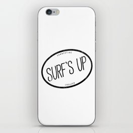 surf's up iPhone Skin