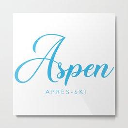 ASPEN Metal Print