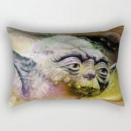 YODA - portrait Rectangular Pillow
