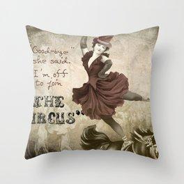 Join the Circus Throw Pillow