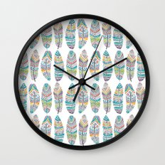 Amazon Feathers Wall Clock