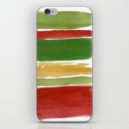 Christmas Colour Palette iPhone Skin