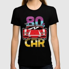 The 80's Car T-shirt