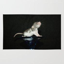 Baby dumbo rat Rug