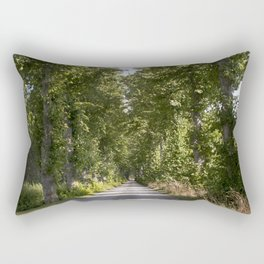 Down the road Rectangular Pillow