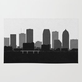 City Skylines: Tampa Rug