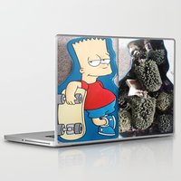 simpson Laptop & iPad Skins featuring Bart Simpson by Arran.Sahota