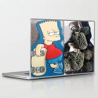 simpson Laptop & iPad Skins featuring Bart Simpson by Arran.Sahota