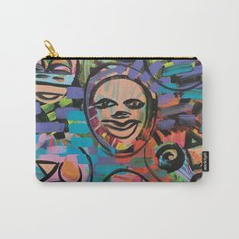 Wild Thoughts of A New World Carry-All Pouch