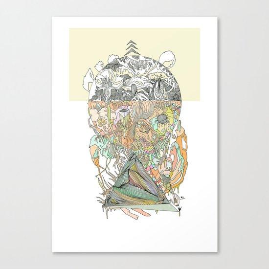 ///hue fuse/// Canvas Print