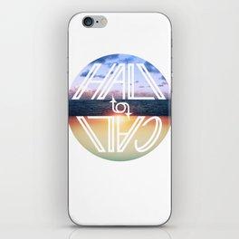 Hali to Cali iPhone Skin