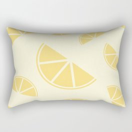 Fruity Lemon Splice Rectangular Pillow