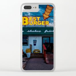 Best Burger Clear iPhone Case