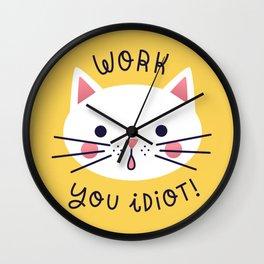 Bossy Cat Wall Clock